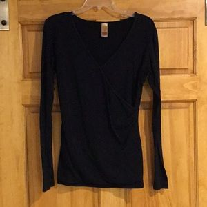 Long Elegant Legs long sleeve top size M Medium